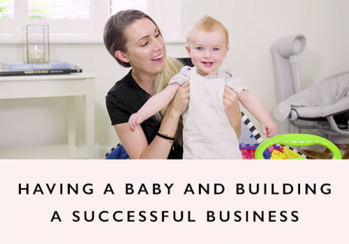 Running a business and having a baby Part 1