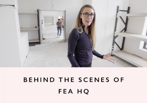 VLOG: Sneak Peek at the FEA HQ