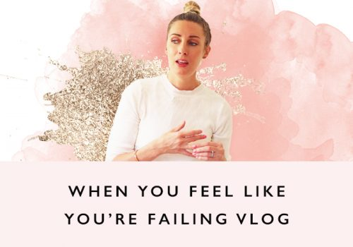 VLOG: When you feel like you're failing