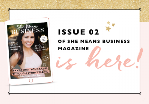 She Means Business | Issue 2