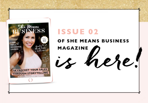 She Means Business   Issue 2