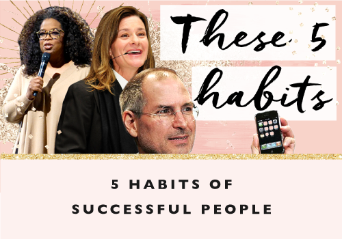 Five Habits of Successful People