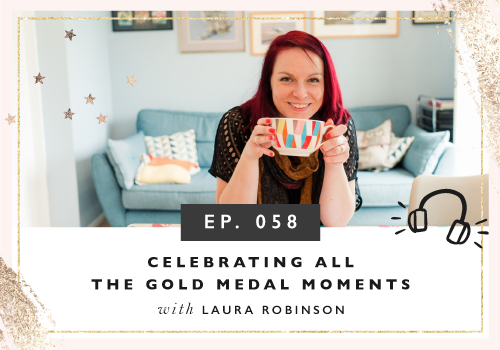 Celebrating All the Gold Medal Moments with Laura Robinson