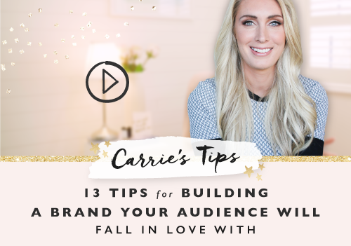 13 Tips For Building A Brand Your Audience Will Fall In Love With
