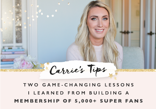 Two game-changing lessons I learned from building a membership of 5,000+ super fans