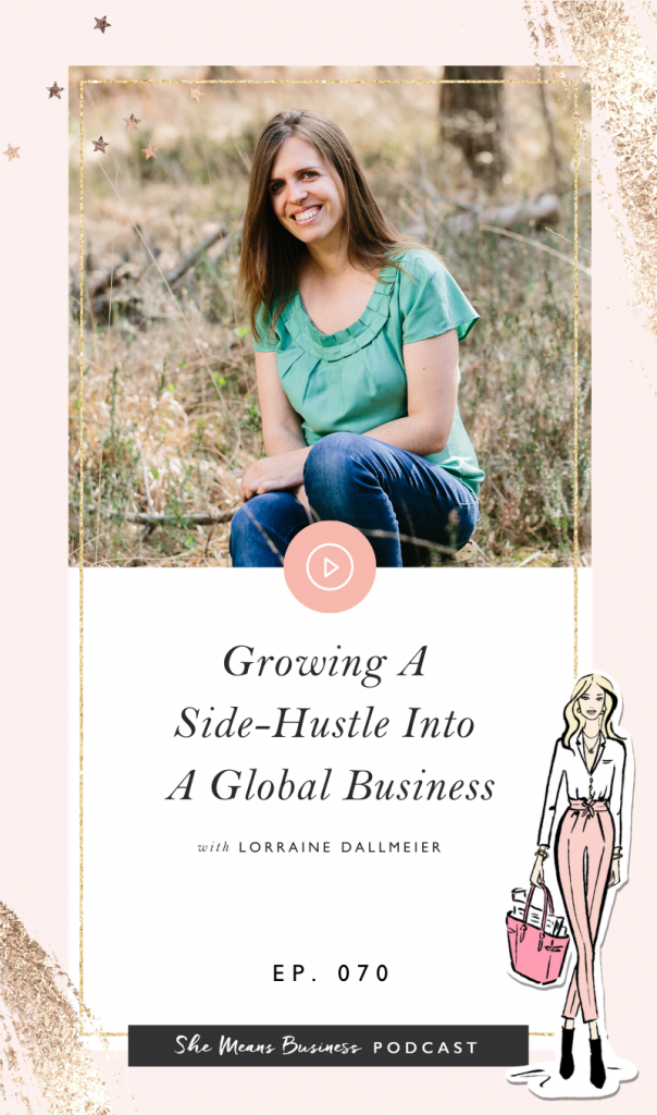 Lorraine Dallmeier talks about buying and growing her business