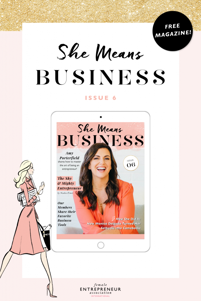 We're so excited to bring you Issue 6 of our She Means Business Magazine! #digitalmagazine #femaleentrepreneur #girlboss