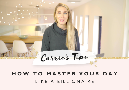 How to master your day like a billionaire
