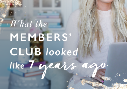 Throwback to 2013: How I launched the Members' Club without having it all figured out