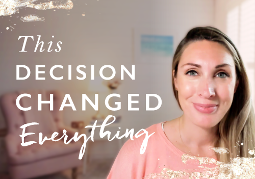 The biggest decision you need to make to create success