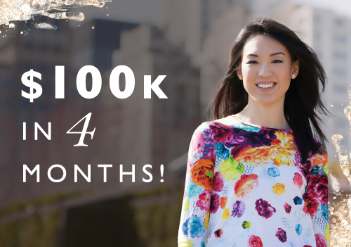 Six Figure Side-hustle In 4 Months: How Luisa Zhou Did It