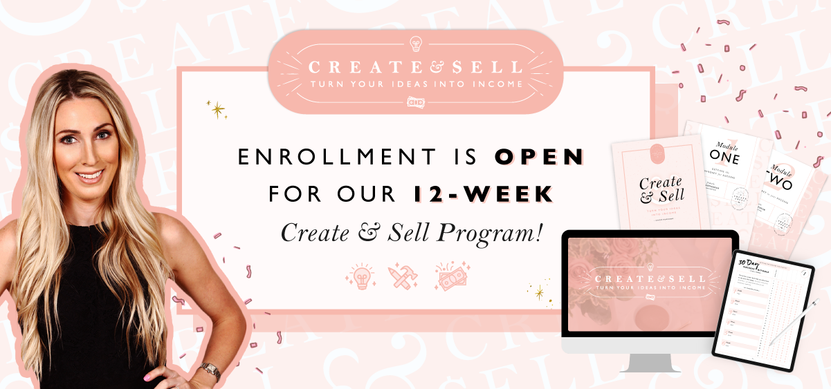 Join the Create & Sell Challenge
